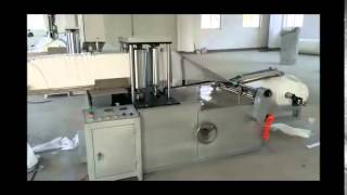 Disposable Cleaning Cloth, Dishcloth and Wipe Cloth Cutting and Folding Machine Thumbnail