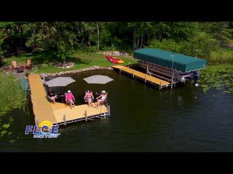 FLOE Dock | Roll In | Aluminum | Wisconsin | Minnesota | Boat Lift