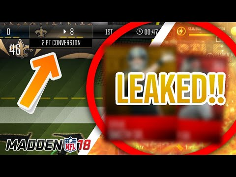 SCORE ALL OF YOUR 2-POINT CONVERSIONS!! LEAKED MADDEN MOBILE TOURNAMENT PLAYERS AND REWARD STRATEGY!