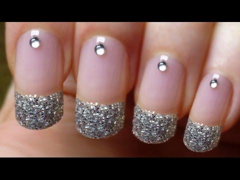 perfect glitter nails fast &