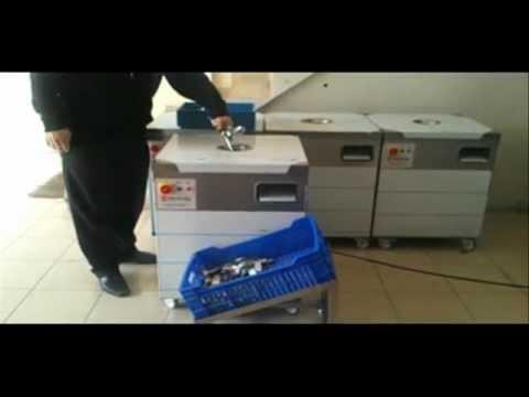 KMS takım silme makinaları.Kaşık, çatal, bıçak kurutma, parlatma, hijyen makinası