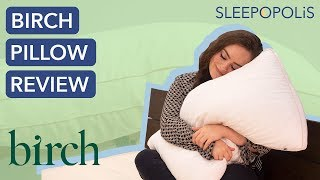 Birch Pillow Review - Should You Sleep on a Latex Pillow?
