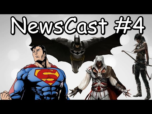 Batman V Superman / Deadpool / Tomb Raider - NewsCast 4#