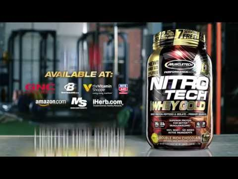 MuscleTech's Newest Innovation: NITRO-TECH 100% Whey Gold