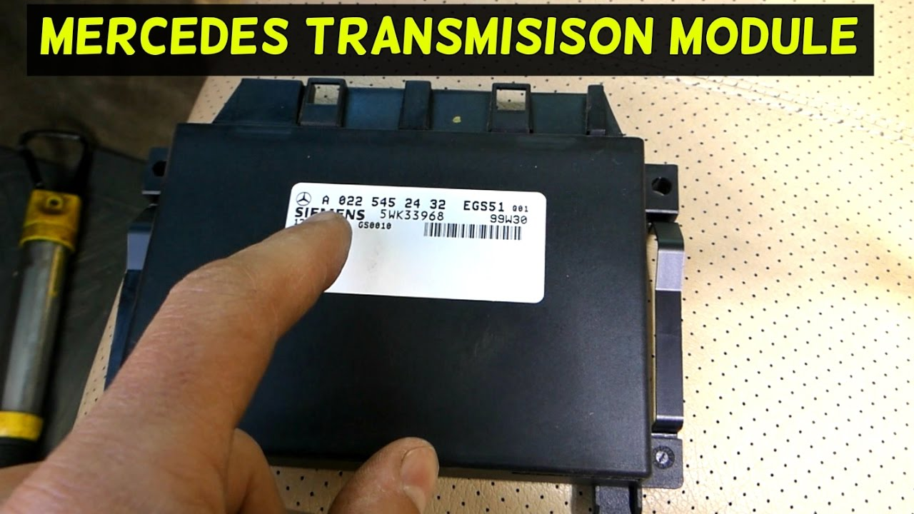 Mercedes W163 Transmission Control Module Replacement And