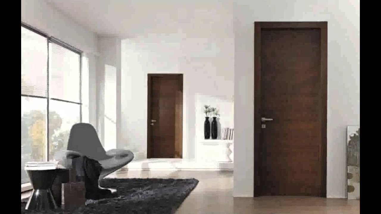 Porte design interieur youtube for Porte maison interieur