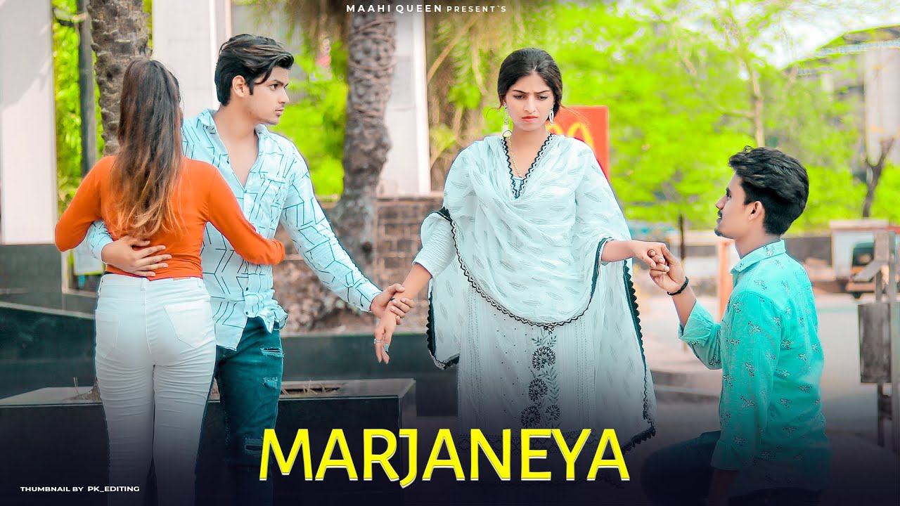 MARJANEYA - Neha Kakkar | Cute Love Story | Romantic Song | Maahi Queen | Latest Song 2021