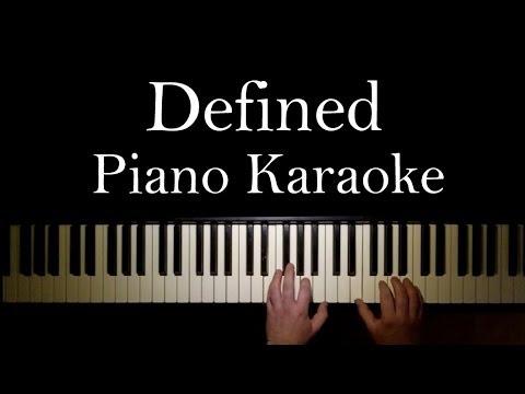 Defined (Ronan Parke) Piano Karaoke