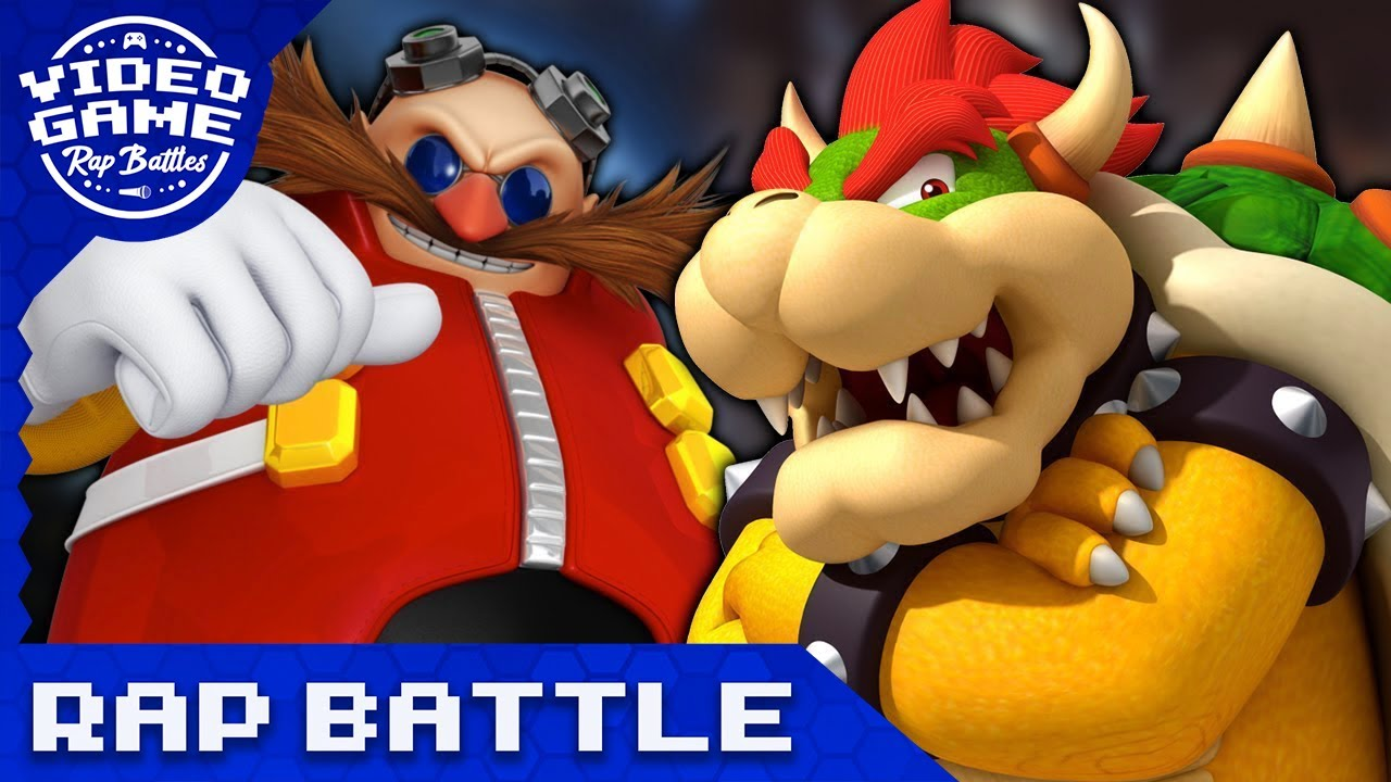 Bowser vs. Dr. Eggman - Video Game Rap Battle