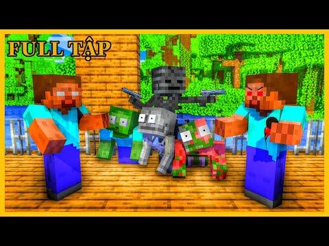 [ Lớp Học Quái Vật ] CUỘC SO TÀI - AI MỚI LÀ THẦY HEROBRINE THẬT #ĐầyĐủ   Minecraft Animation