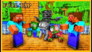 [ Lớp Học Quái Vật ] CUỘC SO TÀI - AI MỚI LÀ THẦY HEROBRINE THẬT #ĐầyĐủ | Minecraft Animation