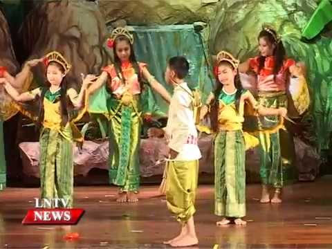 Lao NEWS on LNTV: Poetry Reading & Folk Singing Project, Sangsinxay Festival.22/9/2015