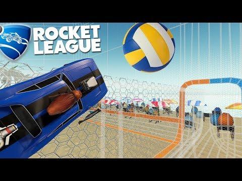 Rocket League - Modo Vôlei Difícil Porém Divertido
