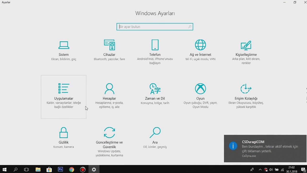 Oyunlarda KASMA Sorunu Çözümü! FPS ARTTIRMA 2018 (Windows 10) SORUNSUZ