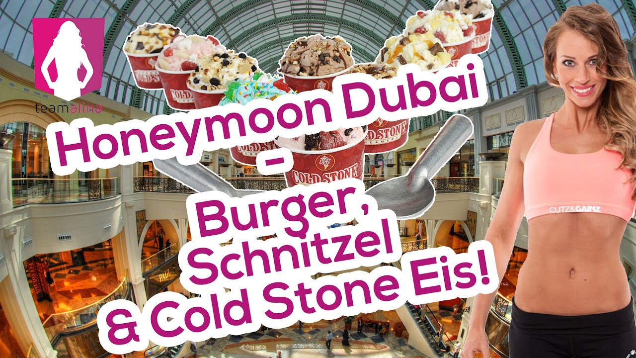 honeymoon 9 dubai burger schnitzel cold stone eis. Black Bedroom Furniture Sets. Home Design Ideas
