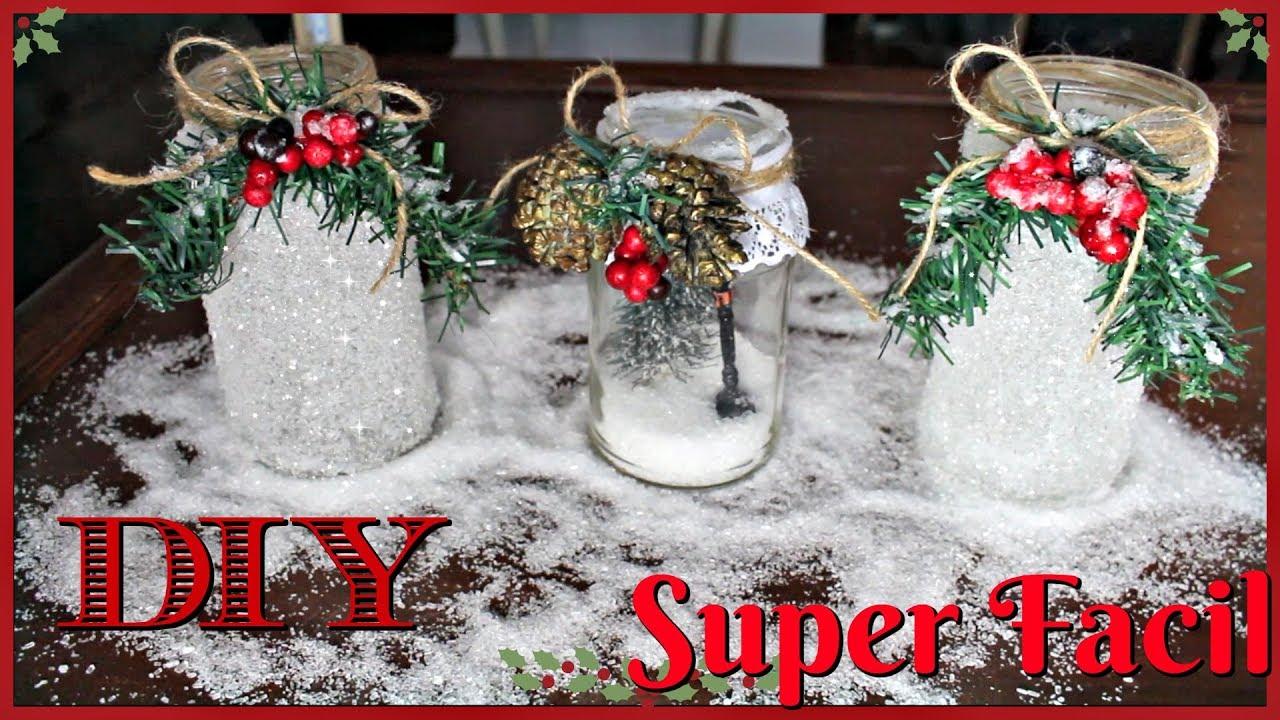 Como hacer decoraciones navide as reciclando super bonitas - Decoracion navidena diy ...