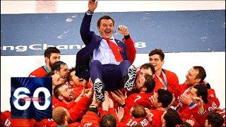У России - ЗОЛОТО Хоккеисты спели гимн наплевав на запреты 60 минут