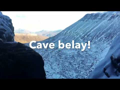 Scottish winter: West Buttress by West Central Gully