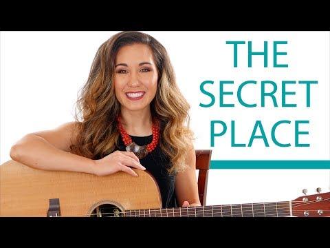 The Secret Place - Phil Wickham Acoustic Guitar Lesson with Play Along