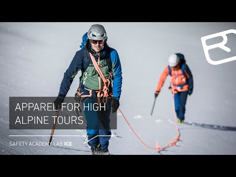 Apparel For High Alpine Touring: Merino Underwear, Softshell Jacket, Etc – Tutorial (2/18) | LAB ICE