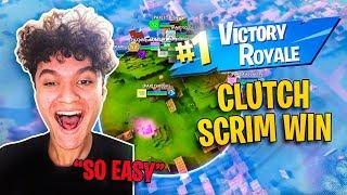 How To Win Every Pro Scrim! (INSANE CLUTCH WIN)