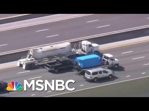 Arrested Pipe Bomb Suspect Named As Cesar Sayoc Of Aventura, Florida | MSNBC