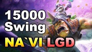 NAVI LGD - 15000 SWING WHAT A GAME - TI6 DOTA 2