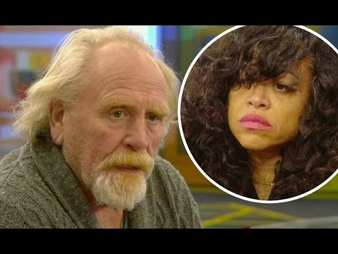 CBB's  James Cosmo tells Stacy Francis of his dark past in candid heart to heart