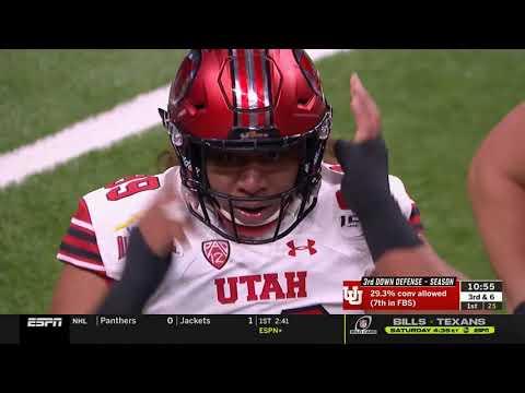 2019 - Game 13 - Alamo Bowl Texas Vs. #11 Utah