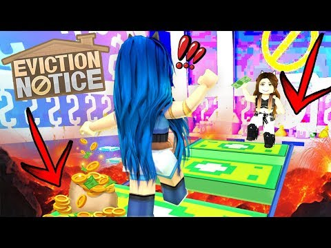 IF YOU FALL OFF YOU LOSE in Roblox Eviction Notice!