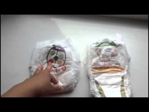 Сравнение трусиков-памперсов