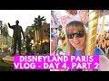DISNEYLAND PARIS 25th ANNIVERSARY VLOG | Stuck on the carousel! | Day 4, Part 2!