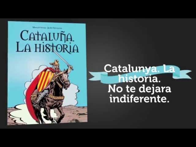 Llega el primer cómic de historia catalana libre de nacionalismo