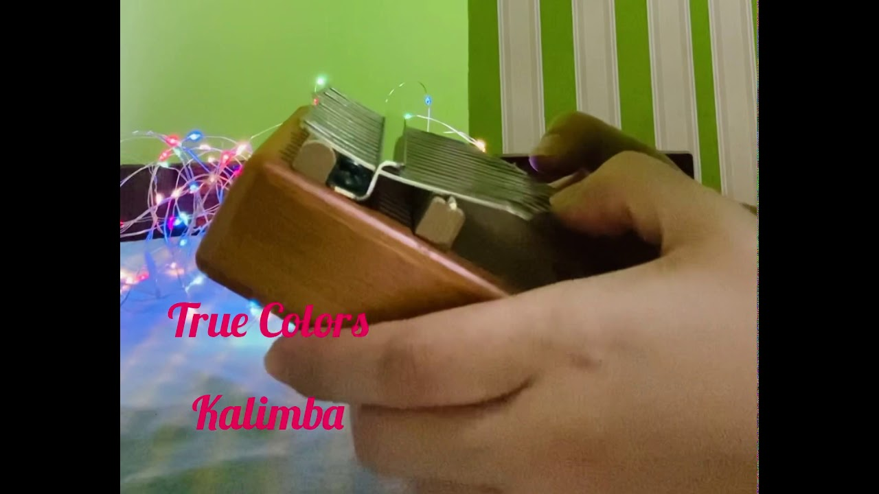 Download True Colors (by Phil Collins) Kalimba Cover