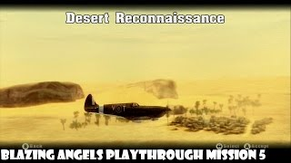 Blazing Angels - Mission 5 - Desert Reconnaissance (XBOX360)