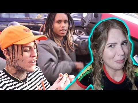 Lil Gnar ft. Lil Skies - Drop Top Benz   REACTION
