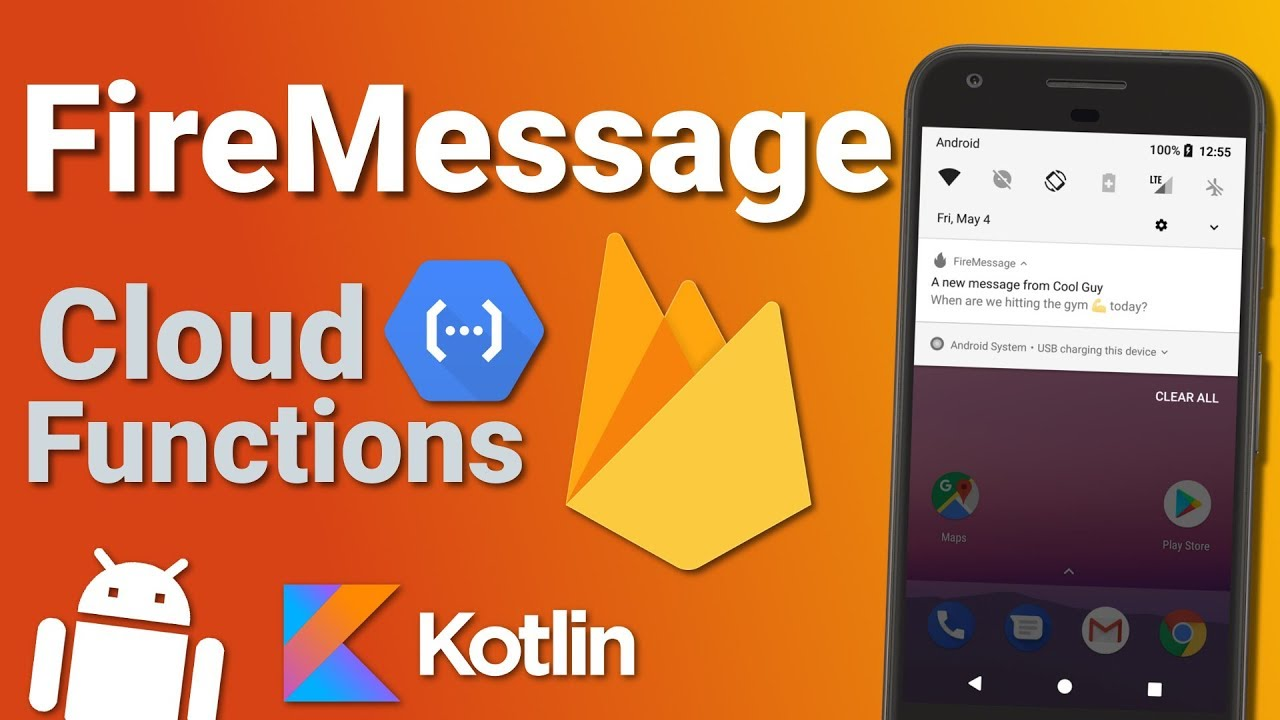 Firebase Firestore Chat App: Cloud Functions & FCM (Ep 8) - Kotlin Android  Tutorial