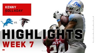Kenny golladay has one of the best catch highlight reels in nfl, making huge catches that don't seem possible! he finished his day with 6 for 114...