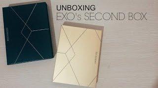 EXO's SECONDBOX - UNBOXING (Indonesia)