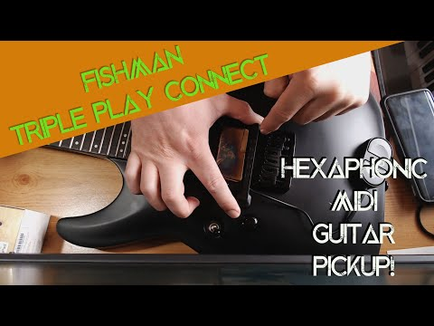 MIDI Synth Guitar! Fishman Triple Play Connect - Install & Review