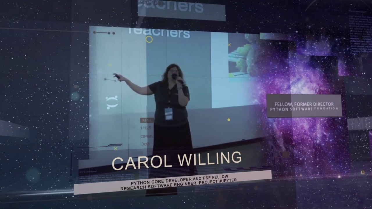Image from Carol Willing - PyCon Colombia 2019