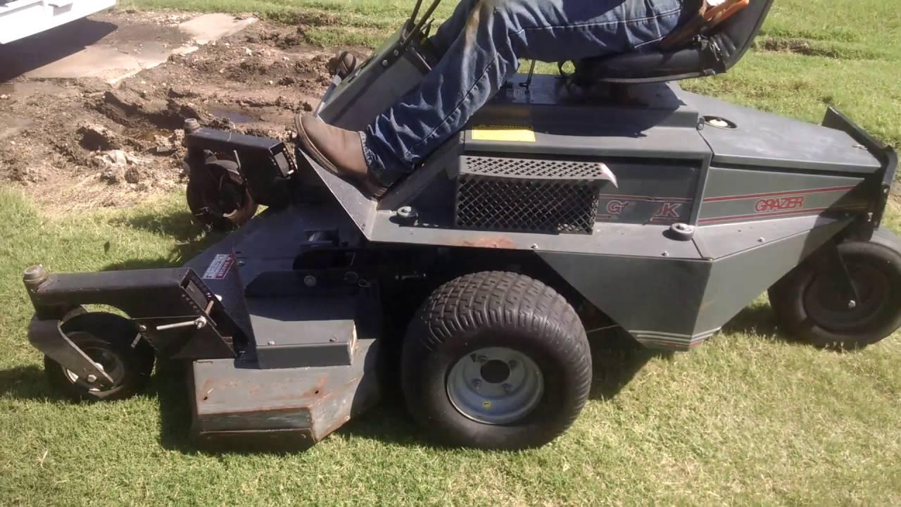 grazer g1890k selling on bigiron com august 31 2016 youtube rh youtube com grazer mower parts Dynamark Mower Manual