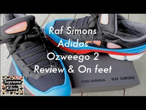 RAF SIMONS x Adidas Ozweego 2- Review & On Feet