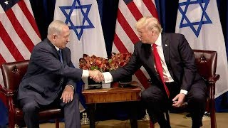 From youtube.com: Israeli PM: The alliance between America and Israel has never been stronger US President Donald Trump expressed his hopes for a peaceful settlement to the Middle East crisis again on Monday as he met Israel's Prime Minister Benjamin