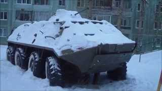 Погода в Томске 19.11.2014 г. -10С, снег, фашизация.