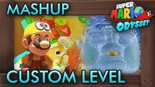 A Kingdom Mashup Custom Level - Super Mario Odyssey Maker