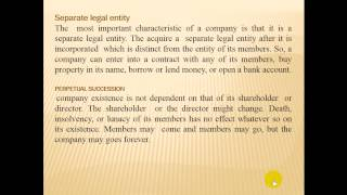 introduction of company and law in hindi lecture 1  b-com and mba student