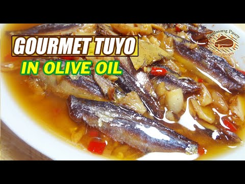 GOURMET TUYO IN OLIVE OIL 🐟 EASY AND SIMPLE TO MAKE