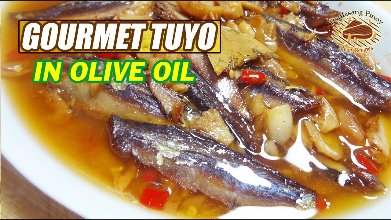 How To Make Spicy Gourmet Tuyo in Oil