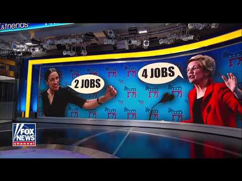 Warren Doubles Up Ocasio-Cortez Claim: Americans Working '2, 3 or 4 Jobs' to Make Ends Meet